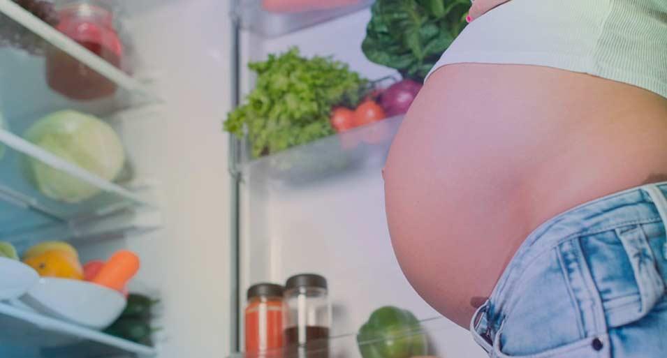 Cuidar la alimentación durante el embarazoi